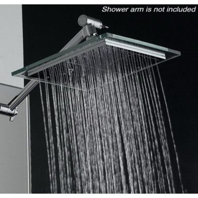 AKDY (TM) Bathroom Chrome Shower Head 8 AZ6021 Rain Style
