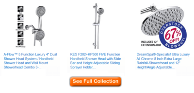 best adjustable shower heads