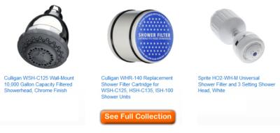 best shower head filters