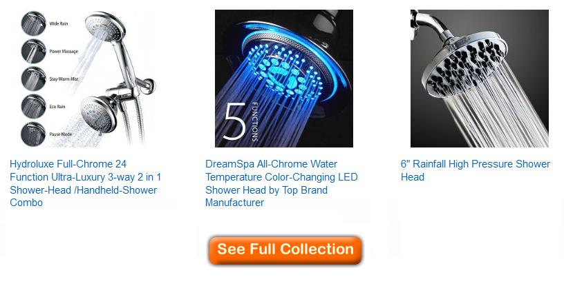 best shower heads under $40 – The Best of Shower Heads