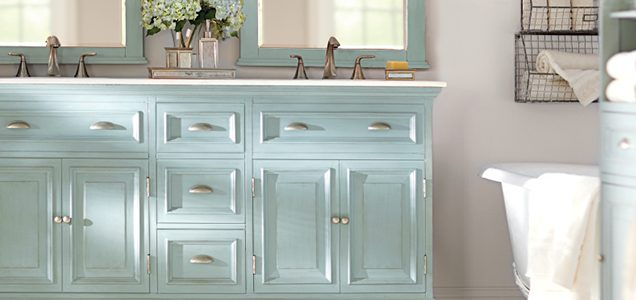 blue bathroom cabinet do bathroom vanities need backsplash 12119