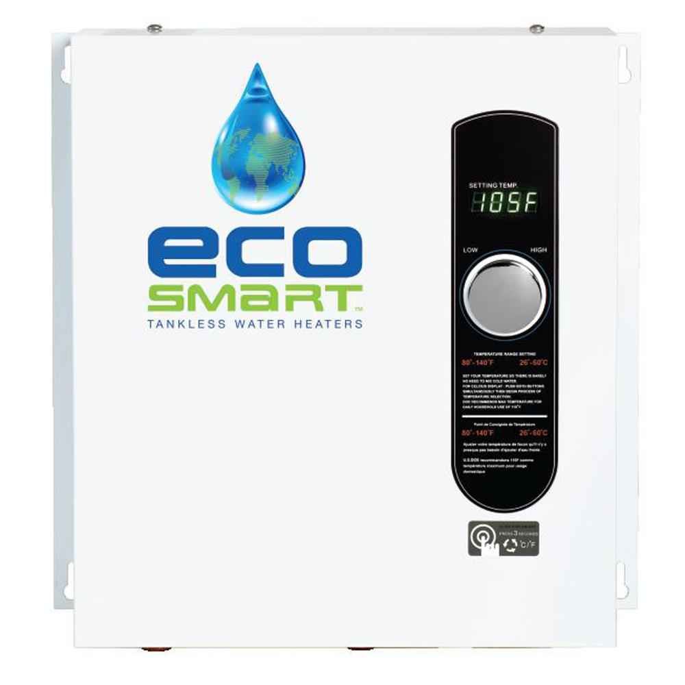 ecosmart tankless water heater
